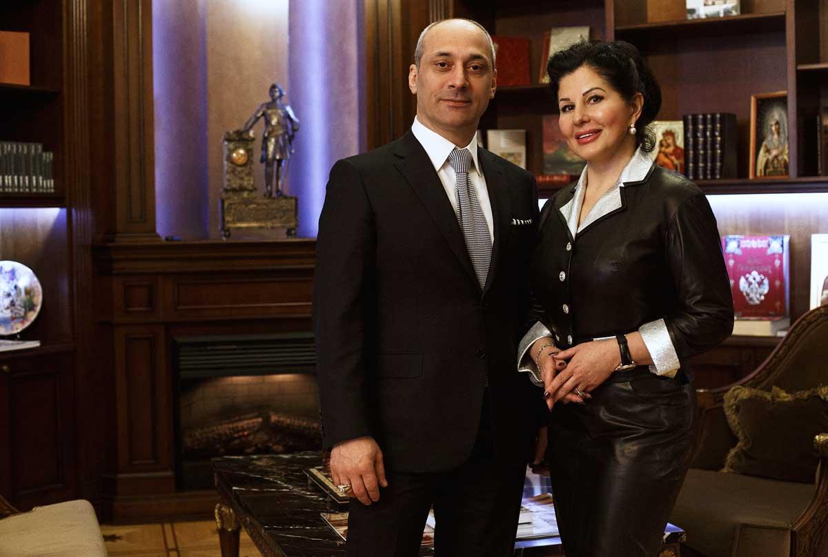 Хизир Атакуев и Марина Сечина