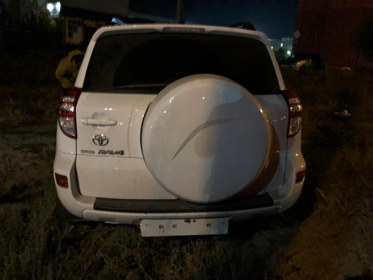 Toyota Rav 4 в ДТП в Лисках