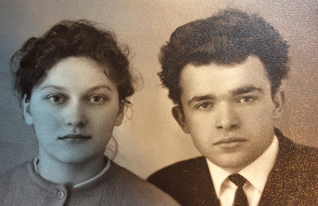Василий Калин с женой Марией