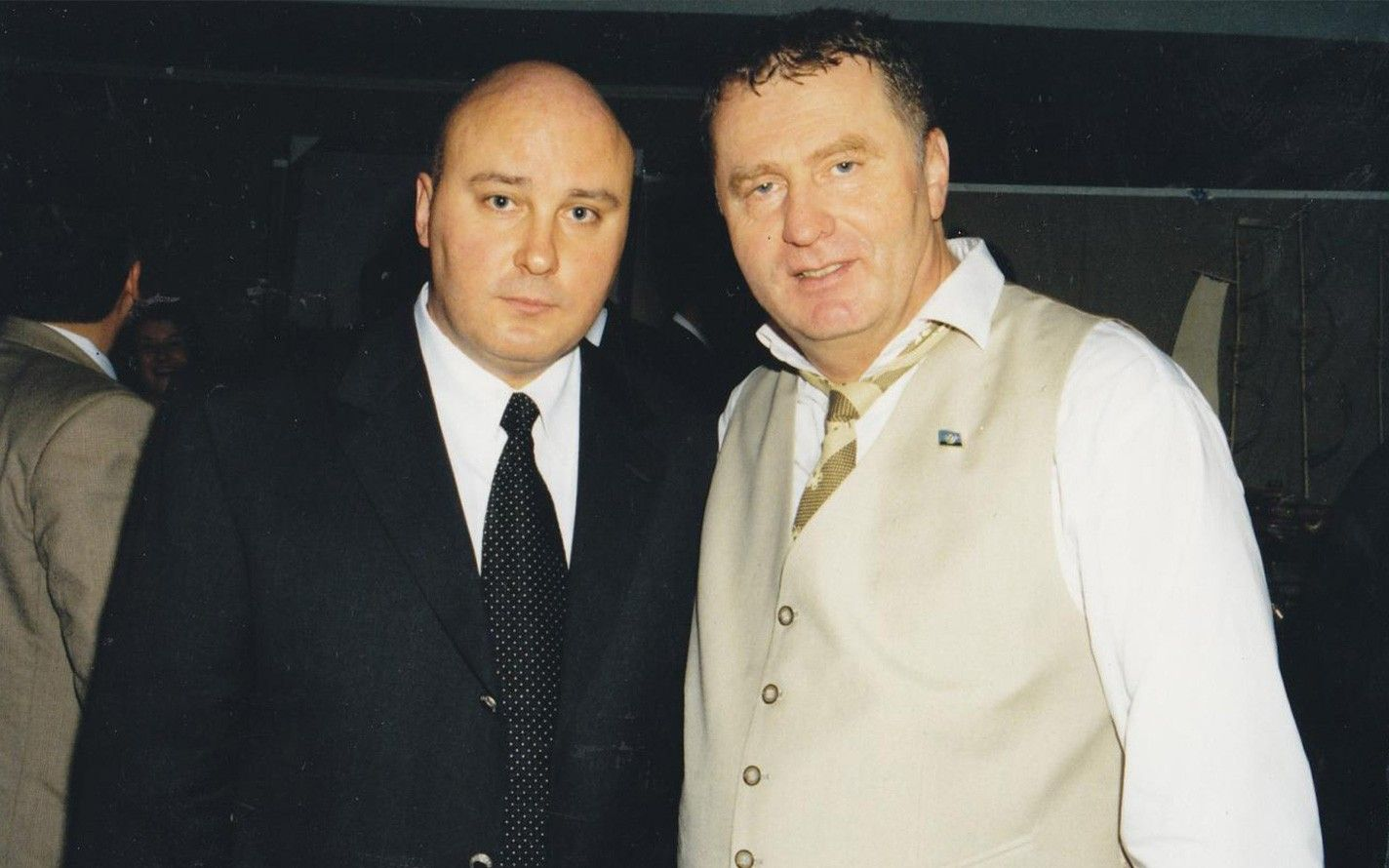 Сергей Абельцев и Владимир Жириновский