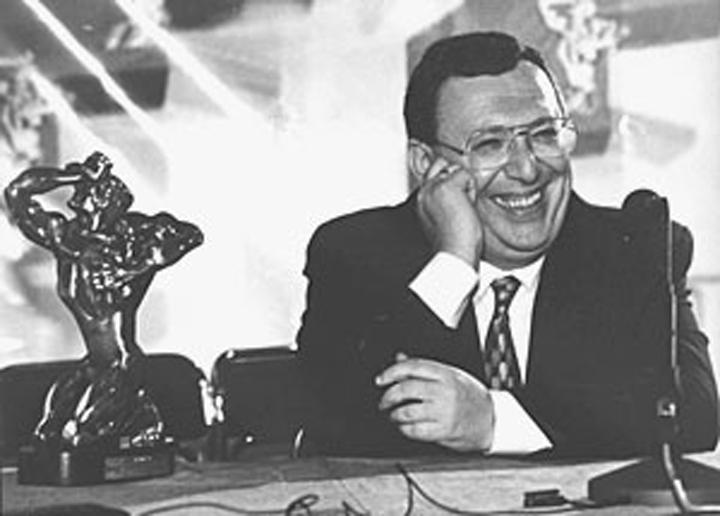 Владимир Гусинский — обладатель ТЭФИ за вклад в развитие российского телевидения