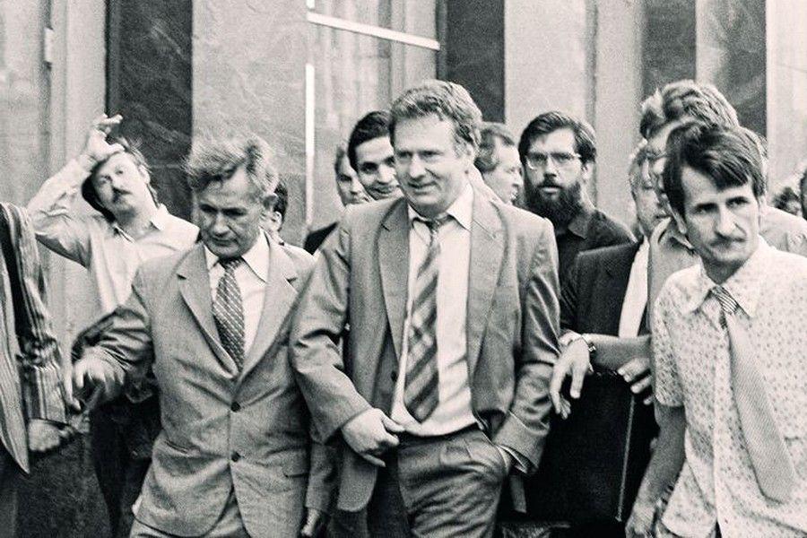 Владимир Жириновских в начале своей политической карьеры